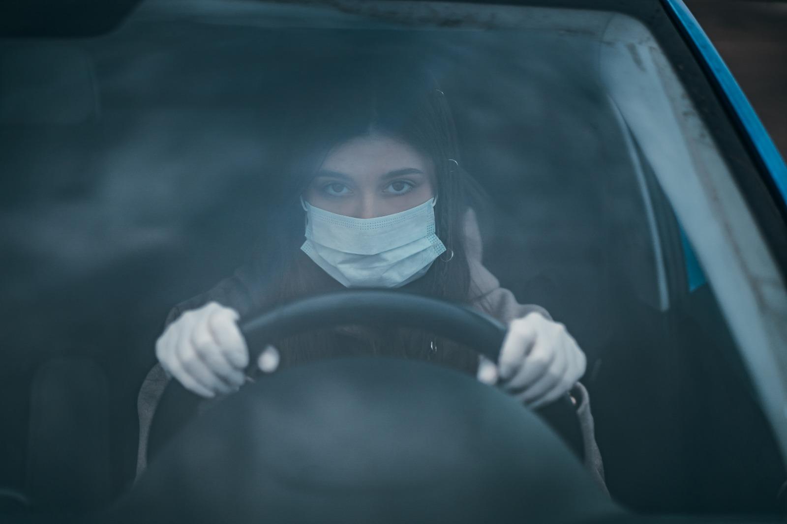 conducir durante la cuarentena