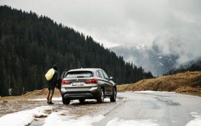 Cómo conducir con nieve o hielo en la carretera