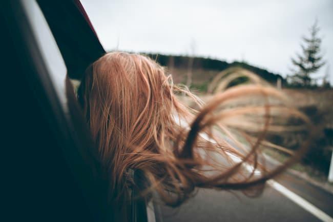 conducir en invierno con viento