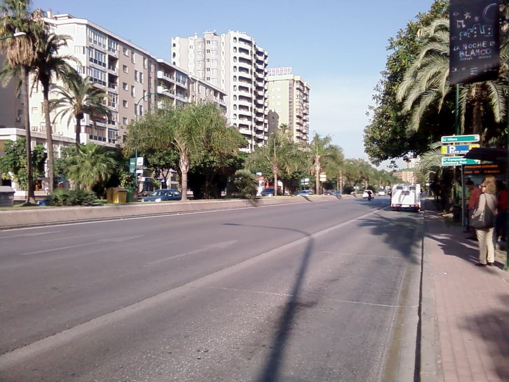 Zonas con más accidentes en Málaga Avenida Andalucía Málaga